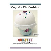 Quilter's Trading Post Pack of 3 Patterns - Cupcake Pin Cushion, -344612