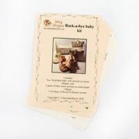 Dolly Dimples Rock a Bye Baby 3D Collection - Makes 2 Printed Bab-347041