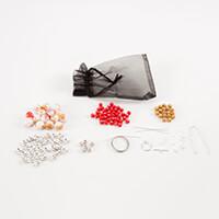 Aldridge Crafts Spot & Speckle Necklace & Earrings Kit-347709