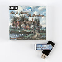 The Card Hut In a Manor of Speaking… by Dennis Lewan USB-348182
