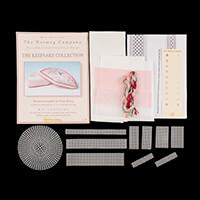 Nutmeg Hummingbird Fan Box Cross Stitch Kit-349320