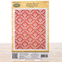 Justrite Autumn Damask Background Cling Stamp-349351