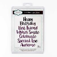 Creative Expressions Stylish Script Collection - Essential Words -351452