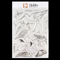 Hobby Art Water's Edge A5 Stamp Set designed by Sharon File - 12 -351595