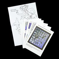 Quilt Dragon Kits - Silhouette Convergence Quilt Wall Hanging Ins-351980