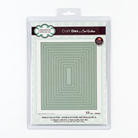 Dies by Sue Wilson Noble Collection Double Stitched Rectangles Se-354183