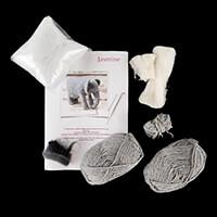 Knit2Felt Jasmine the Elephant Kit Knitting & Felting Kit-354543