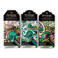 Spectrum Noir Colorista Dark Bookmark Pencil Pads x 3-356379