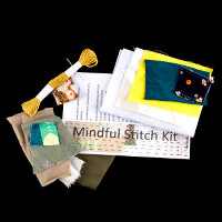 Inventors Asylum Mindful Stitch Embroidery Kit-356644