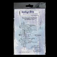 IndigoBlu Red Rubber A6 Stamp-359402