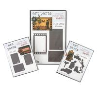 Studio 490 3 x Art Parts - Film Strips, For The Guys & ATC Art - -359456