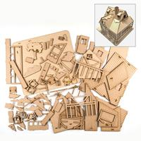 Samantha K Cabin Model Set - 38x45x30cm-359646