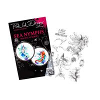 Pink Ink Designs A5 Sea Nymphs Photopolymer Stamp Set - 2 Main St-360465