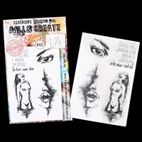 AALL & Create Clear Stamp Set - Her Own Skin - 4 Stamps-363068