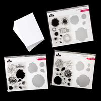 Craftwork Cards Grande Floral Dies and Stamps Collection with 100-363430
