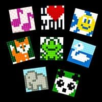 Pixelhobby XL Card Topper Bundle - 8 x Sets with 1 x Baseplate & -364295