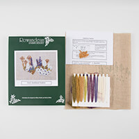 Rowandean Embroidery Heathland Heather Embroidery Kit-364651