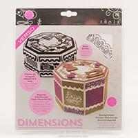 Tonic Sewing Forever Octagon Kaleidoscope Box Lid & Base Die Set -365180