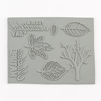Crafter's Companion A6 Stamp Set - Autumn Leaves-365427