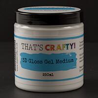 That's Crafty! 3D Gel Paste - 250ml-365980