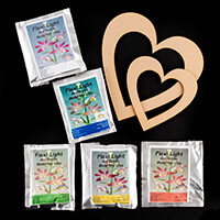 Craft-e-Liza Heart to Heart Kit - Large and Small MDF Hearts and -365991