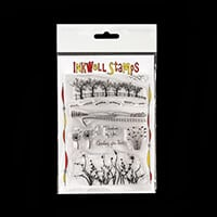 Inkwell Meadow Scene Stamp Set - 13 Stamps Total-366231