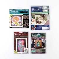 Sheena Douglas 3 x Die Sets & 5 x 3D Stencils - Pawprint Memories-368793