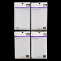 Couture Creations 4 x Embossing Folders - Great Babette, Hemlines-369207