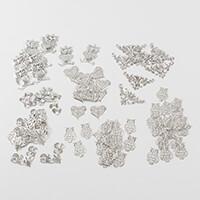 Craft Buddy 100 Piece Spring Metal Embellishments-371065