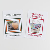 Quilting Antics Absolutely Blooming & Little Acorns Pattern Pair-373663