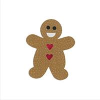 Sizzix® Bigz L Die - Gingerbread Man-375553