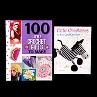 Search Press Set of 2 Crocheting Paperback Books-376522