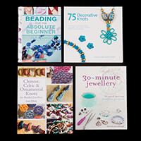 Search Press - 4 x Guide Books - Jewellery & Knots-378445