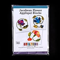 Quilter's Trading Post Jacobean Flower 12