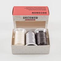 WonderFil™ DecoBob Violet Craft - 3 Spools 2000m each Spool-379110