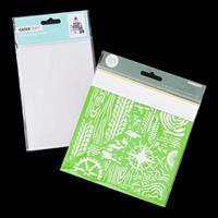 Kaisercraft Gifts Embossing Folder with Adventure Designer Templa-380491