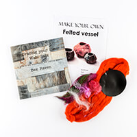 Inventors Asylum Embracing Your Inner Wabi Sabi Book with Felting-380677