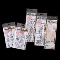 AALL & Create Clear Stamp Collection with Acrylic Block - 10 Stam-383161
