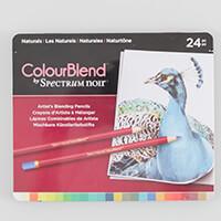 Spectrum Noir ColourBlend 24 Pencils - Naturals-385262