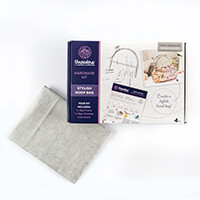Threaders Purse Hardware Kit with 1/2m Fox in the Wood Fabric - S-385945