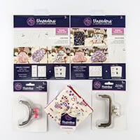 Threaders Coin & Pouch Purse Templates complete with Clasps & Lov-387364