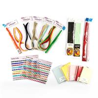 Paper Quilling Set - Assorted Sizes & Colours - 965 Pieces Total-387624