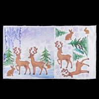 Dawn Bibby Season Applique Panel - 75 cm x 45cm100% Cotton-387949