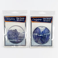 Claritystamp 2 x Fine Line Stamp Sets and Masks - California Roun-388572