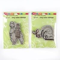 Stampendous 2 x Stamps - Llama Delivery & Sunny Hello-389108