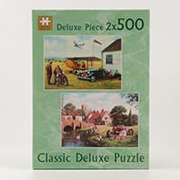 Aero Club & Thirties Sunday - 2x Puzzles (500 Pieces Each)-390255