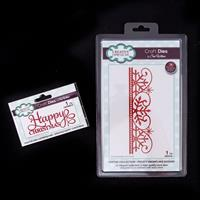 Dies By Sue Wilson Festive Collection - Frosty Snowflake Border &-390743