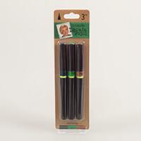 Leonie Glitter Brush Pens - Evergreen x 3 Pens-394588