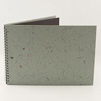 Pink Pig A3 Landscape Sketch Book 25 Leaves - Black 270gsm-394645