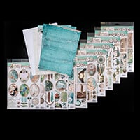 Studio Light Card Collection - 12 Sheets of Toppers, 16 Sheets of-394752